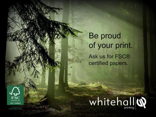 Whitehall featured as Ethical UK Printer